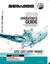 SEA-DOO GTS SERIES OPERATOR'S MANUAL Pdf Download