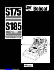 BOBCAT S185 SERVICE MANUAL Pdf Download. on