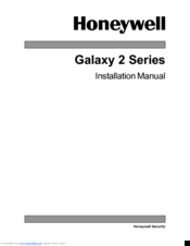 Honeywell Galaxy 2 Series Installation Manual