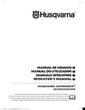 Husqvarna trimmer manual de usuario