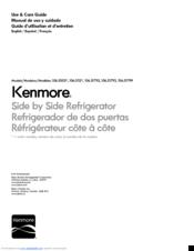 Kenmore 106 51799 Manuals