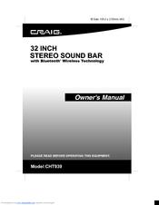 craig cht923 manuals rh manualslib com Craig MP3 Player Pink Craig MP3 Player Instructions