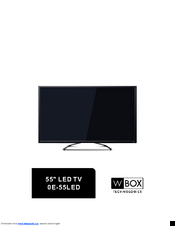 Wbox Technologies 0E-55LED Manuals