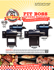 PIT BOSS PB820S OWNER'S MANUAL Pdf Download