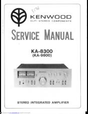 Kenwood Ka 996 Manual on