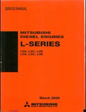 mitsubishi l3e manuals rh manualslib com Mitsubishi Engine S3L2 Parts mitsubishi l3e engine parts manual
