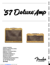 Fender '57 Deluxe Manuals on