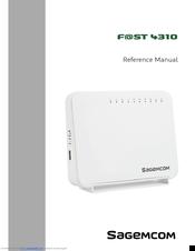 Sagemcom F@ST 4310 Manuals