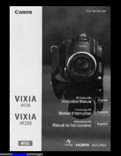 canon vixia hf20 instruction manual pdf download rh manualslib com Canon Vixia HF100 Canon Vixia HF100