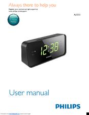 philips aj3232 user manual pdf download rh manualslib com philips aj3540 clock radio user manual Philips Dual Alarm Clock Radio