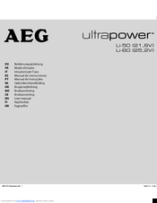 AEG 2V) Ultrapower User Manual