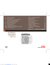 AEG BMG 5610 Instruction Manual