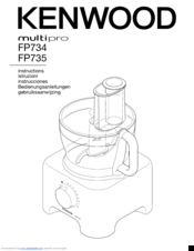kenwood multipro fp735 manuals rh manualslib com