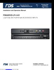 Fds FD932DVD-LP-2-AV Manuals