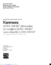 Kenmore 665.1326 Use & Care Manual