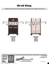 Broil King 9221 64 Manuals Manualslib