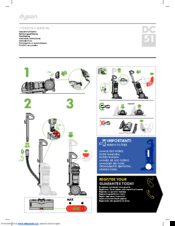 dyson dc 51 manuals rh manualslib com dyson vacuum cleaner user manual dyson animal vacuum instruction manual