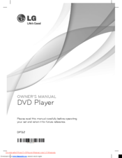 lg dvd manuals