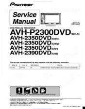 Pioneer Avh2390dvd Manuals. Pioneer Avh2390dvd Service Manual. Wiring. Pioneer Avh 4400bh Service Wiring Diagram At Scoala.co