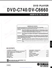 Yamaha Dv C6660 Manuals Manualslib