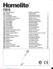 homelite f2015 manuals rh manualslib com homelite instruction manuals homelite st-385 user manual