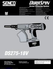senco duraspin ds275 18v manuals rh manualslib com