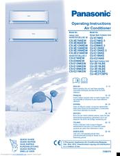 PANASONIC CU 3E18LBE PDF DOWNLOAD