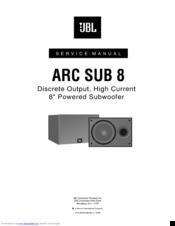 jbl arc sub 8 service manual pdf download rh manualslib com