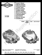 briggs stratton classic 90000 series manuals rh manualslib com briggs and stratton 700 series repair manual briggs and stratton 700 series repair manual