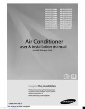 Swl-b70f air conditioner user manual 2 samsung electronics co ltd.