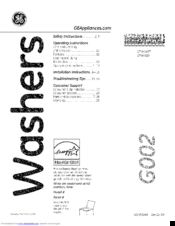 ge gtw460 manuals rh manualslib com ge top loading washing machine service manual general electric washing machine owner's manual