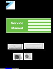 DAIKIN FT25CV1A SERVICE MANUAL Pdf Download