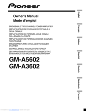 pioneer mosfet 50wx4 wiring diagram pioneer gm-a5602 manuals pioneer mvh p8200bt wiring diagram