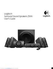 logitech z906 user u20ac s guide manuals rh manualslib com Logitech Z313 Logitech Z313