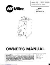 Miller millermatic 200 SKP-35 Manuals on