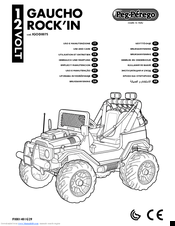 Peg-perego GAUCHO ROCK\'IN IGOD0075 Manuals