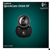 Logitech QuickCam Orbit AF Manuals