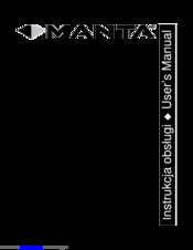 Manta MM262 Manuals
