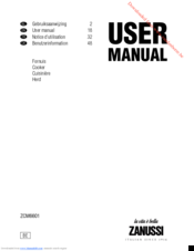 Zanussi ZCM6601 User Manual