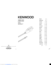 Kenwood KN600 series Instructions Manual