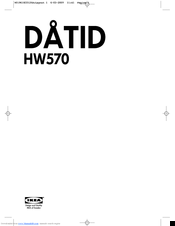ikea datid hw570 manuals rh manualslib com