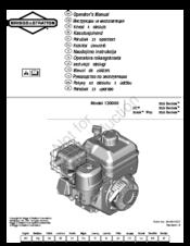 Array - briggs  u0026 stratton 130000 950 series manuals  rh   manualslib com
