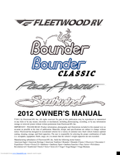 Fleetwood Rv SOUTHWIND Manuals