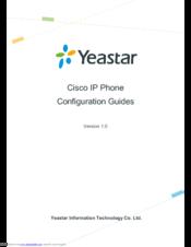 CISCO IP 7940 CONFIGURATION MANUAL Pdf Download