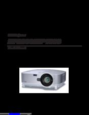 nec np1000 manuals rh manualslib com NEC NP1000 Projector LCD NEC NP1000 Projector LCD