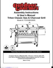Outdoor Gourmet FSOGBG3005 Manuals