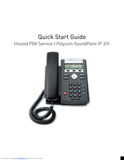 polycom soundpoint ip 331 manuals rh manualslib com polycom ip 331 manual polycom soundpoint ip 321 manual