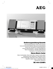 AEG MC 4414 Instruction Manual
