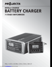 Projecta intelli-charge ic700 automatic 12v 7a 7 stage battery charger.