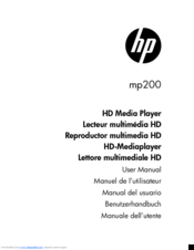 HP mp200 User Manual